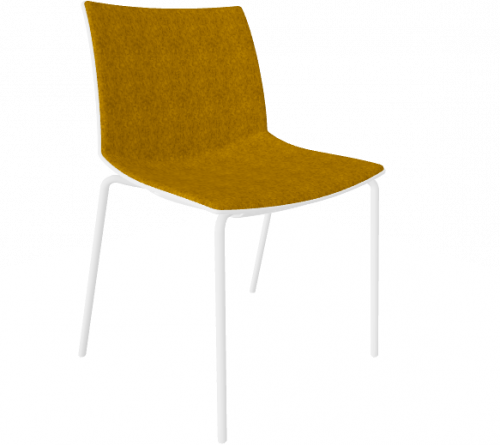 Stoel Point Maxi Gestoffeerd - brede stoel - MV Kantoor