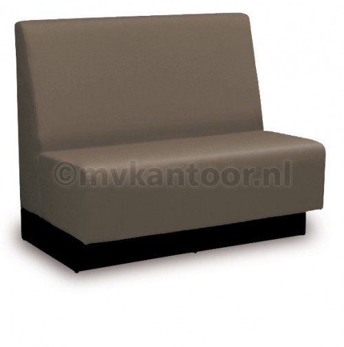 Treinbank grijsbruin Cav43 - bank kantine - aula meubelen - eetbank - mv kantoor
