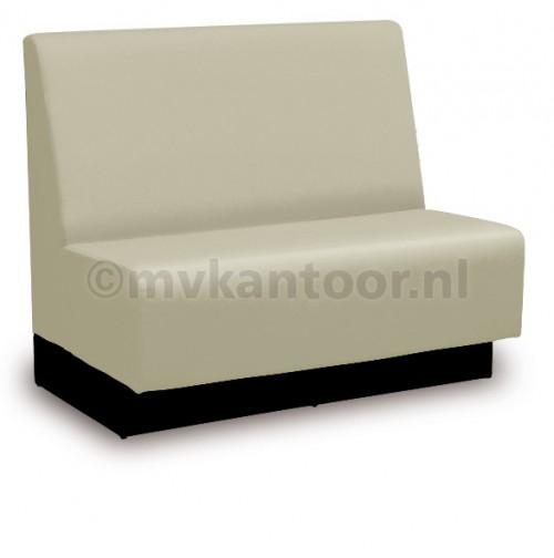 Bedrijfskantine inrichting - wandbanken op maat - aula meubelen - coupe bank - mv kantoor