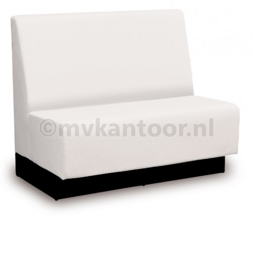 Wandbank wit Cav42 - wachtkamer banken - kantine inrichting - zitbank op maat
