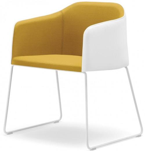 Gestoffeerde stoel Laja 881 - lounge fauteuil binnen - MV Kantoor