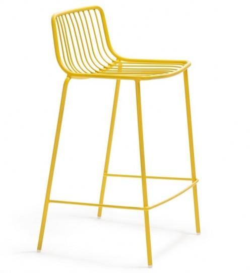 Metalen kruk Nolita 3657 - geel - barkrukken