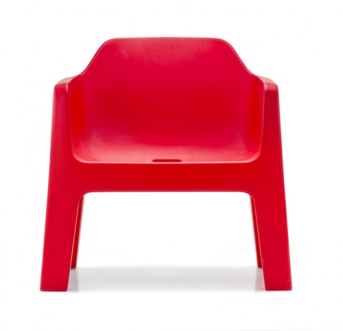 Kunststof zitelement Plus Air 631 - rood - MV Kantoor