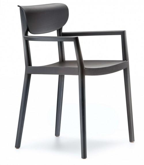 Houten stoel Tivoli 2805 - MV Kantoor