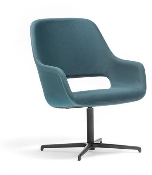 Comfortabele fauteuil Babila - MV Kantoor