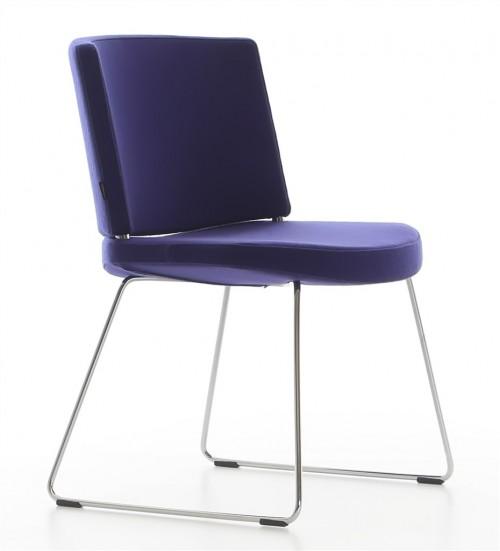 Moderne stoel Kurvi Sledeframe - MV Kantoor