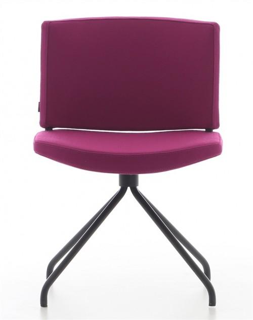 Gestoffeerde stoel Kurvi 4-poots - zitmeubel
