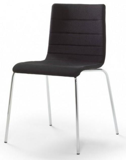 Gestoffeerde stoel Traccia 741 - projectstoelen stapelbaar