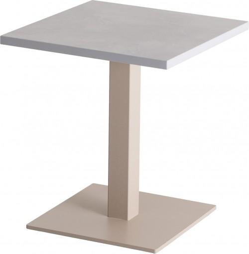 Pipe loungetafel vierkant -  mv kantoor