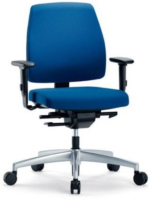 Bureaustoel blauw Goal 102G - MV Kantoor