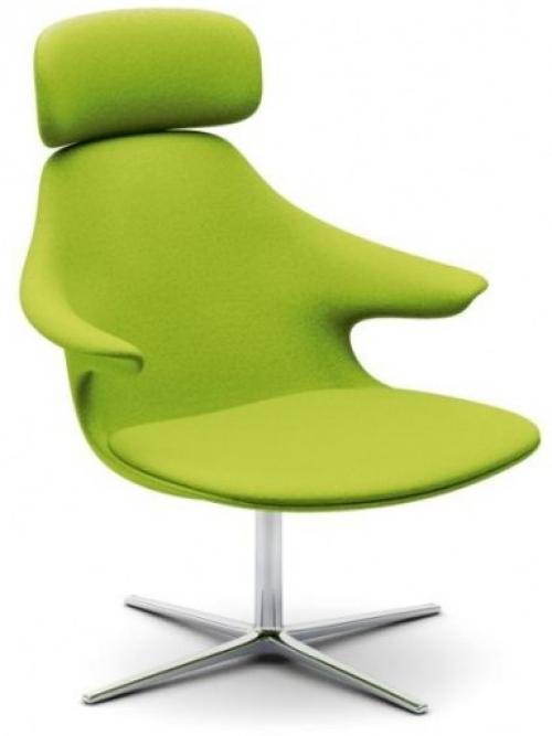 Loungefauteuil Loop Lounge HR - unieke lounge meubelen - mv kantoor