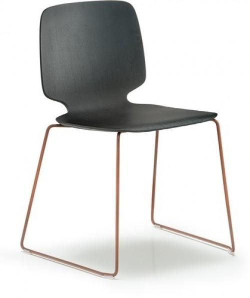 Houten stoel Babila 2720 - MV Kantoor