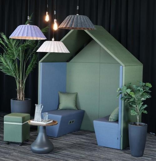 Half a Hut Sofa - mv kantoor - akoestisch meubilair