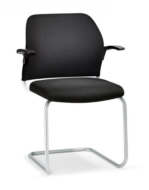 Gestoffeerde stoel Geos 56G0 - mv kantoor