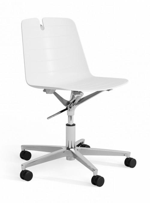 Stoel Iris 5-teens kruisvoet - goedkope bureaustoelen - MV Kantoor