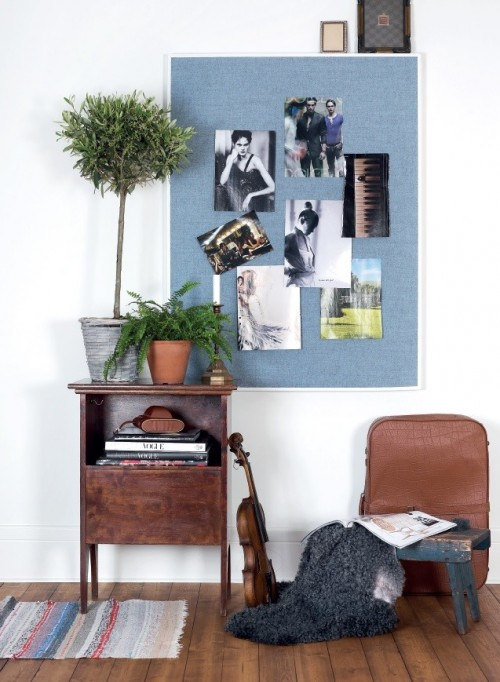 Akoestische Collage prikbord - akoestische wandpanelen - mv kantoor