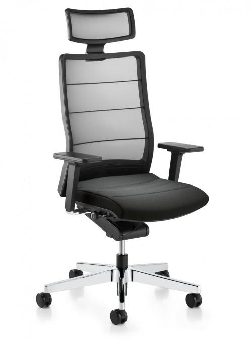 Bureaustoel Airpad 3C72 Leder