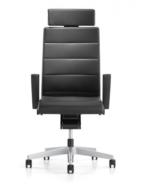 Directie Bureaustoel Champ 3C22 Leder - leren bureaustoel