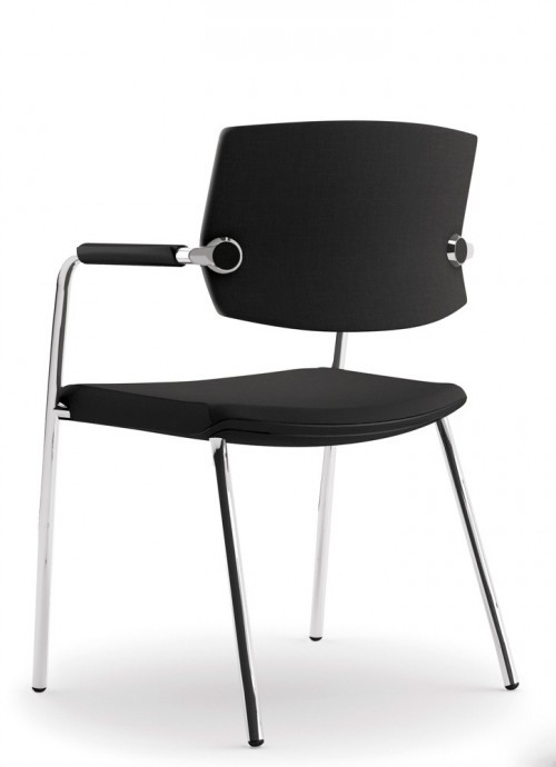Comfortabele Star A794 - stapelbare kantine stoelen - mv kantoor