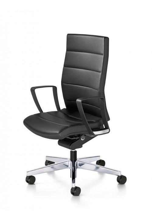 Directie Bureaustoel Champ 3C02 Leder - ergonomische bureaustoel