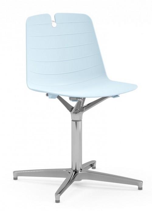 Stoel Iris 4-teens kruisvoet - design stoelen voor uw interieur - MV Kantoor