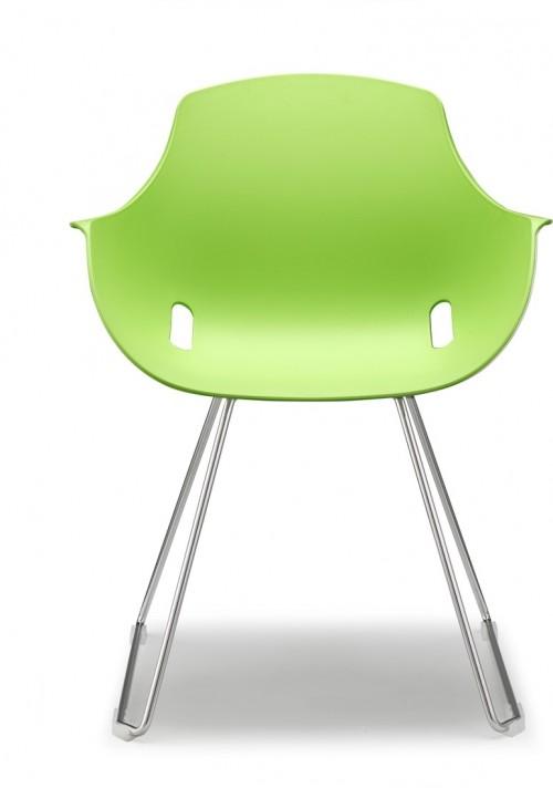 Ago slede stoel - MV Kantoor