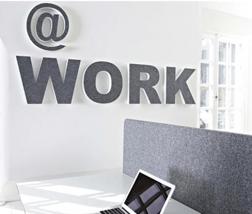 Akoestische letters Sound Off - akoestische panelen - mv kantoor