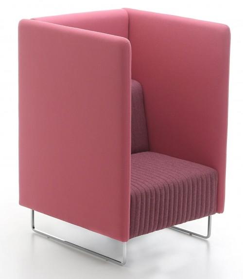 Akoestische fauteuil Mona - MV Kantoor