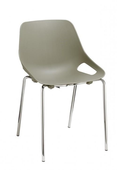 Kunststof stoel S800 groen