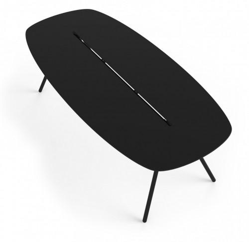 Tafel Lonc Longboard A-Lowha - vergadertafel 8 personen - mv kantoor