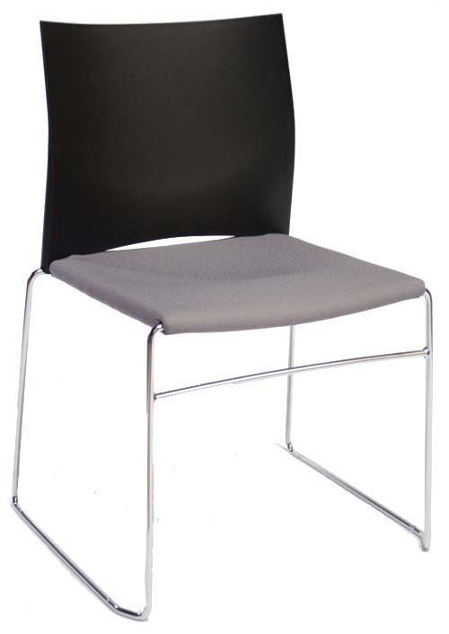 Gestoffeerde hoog stapelbare stoel FP-S450-30 - vergaderzaal stoelen - MV Kantoor