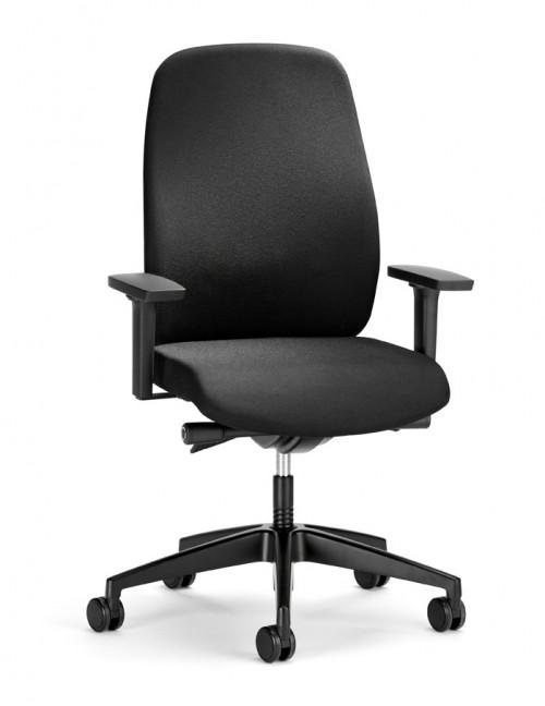 Bureaustoel zwart Geos 15G2 - goede bureaustoel