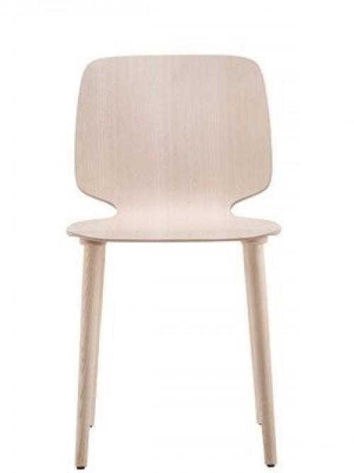 Houten stoel Babila 2700 - project stoelen