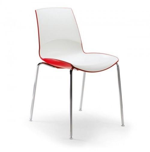 Kunststof stoel Now - MV Kantoor