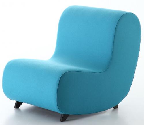 Lounge stoel Simple 731 - luxe fauteuils - mv kantoor