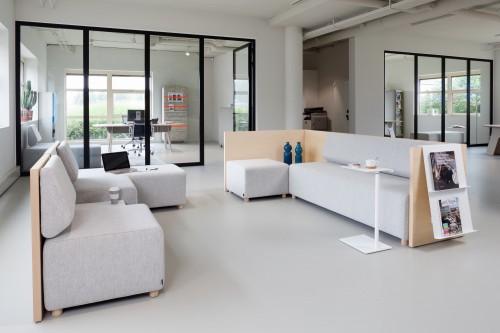 Wachtbank Team - losse zitelementen en accessoires - MV Kantoor