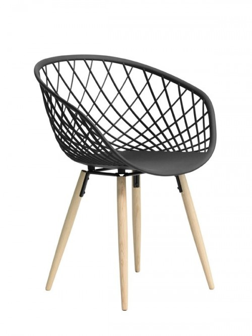 Houten stoel Sidera Wood - MV Kantoor