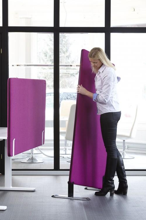 Screenit A30 Flexible scheidingswand akoestisch - geluiddemping kantoor