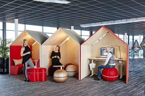 The Hut - Akoestisch huisje - akoestisch kantoormeubilair