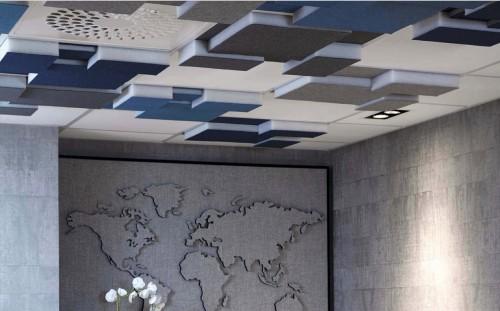 Akoestisch plafondpaneel Niva - mv kantoor