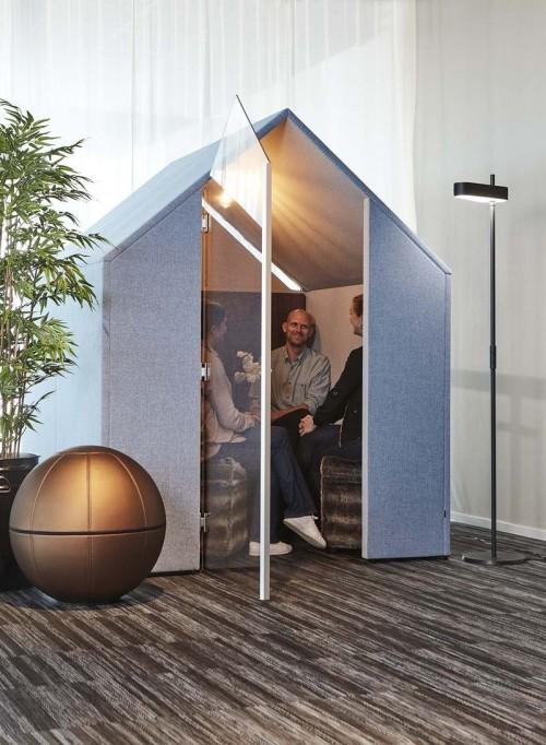 The Hut - akoestische overlegplek - mv kantoor
