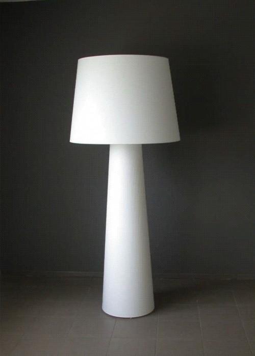 Vloerlamp 3L-195 wit