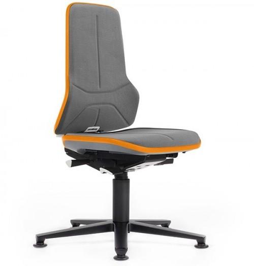 Werkplaatsstoel Neon 1+2 met glijders - industriestoelen