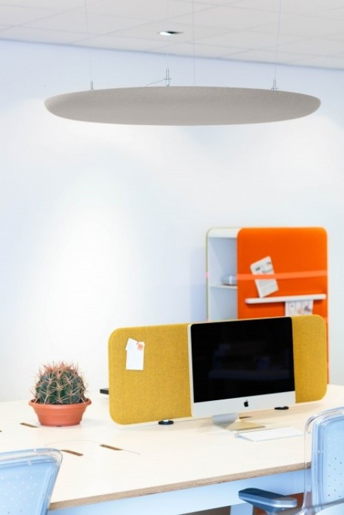 Akoestisch paneel Pillow Desk - akoestische bureauwand
