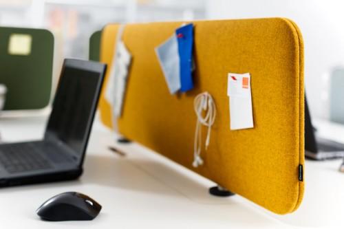 Akoestisch paneel Pillow Desk - creëer persoonlijke werkruimte