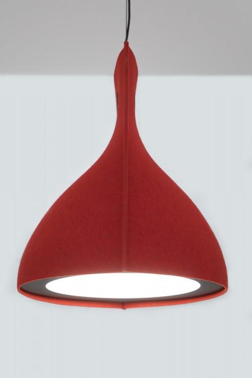 Buzzibell hanglamp akoestisch - MV Kantoor