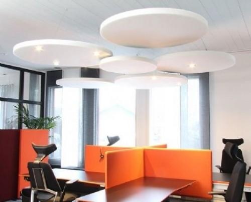 Akoestisch paneel Sound Off - akoestische panelen plafond - mv kantoor