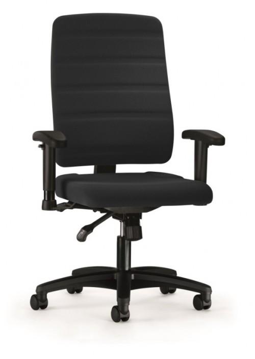 Voordelige bureaustoel Yourope zwart