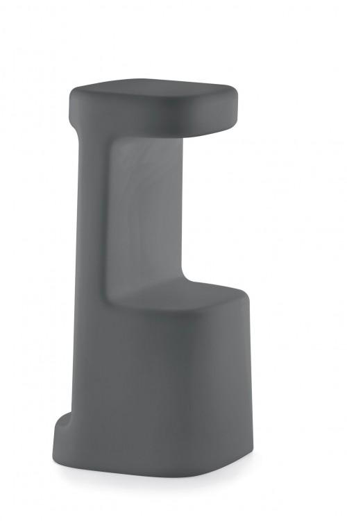 Designkruk Serif 860 antraciet - kantine krukken