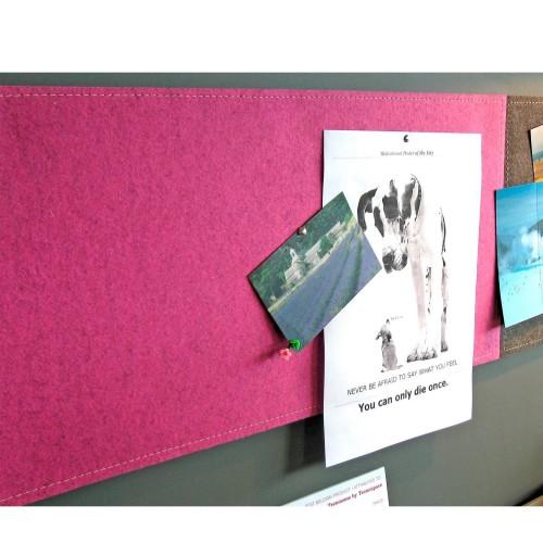 Akoestisch memobord BuzziGrip - geluiddemping kantoor